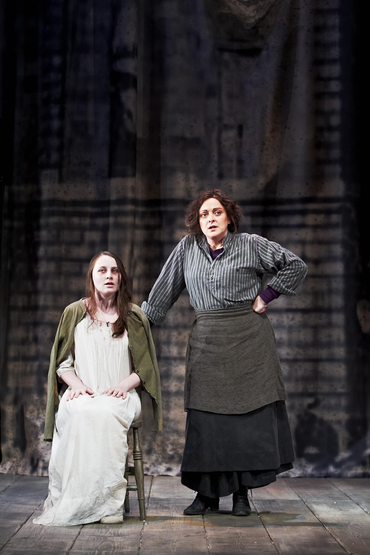 Roxanna Nic Liam and Deirdre Molloy, Photo Credit Ros Kavanagh