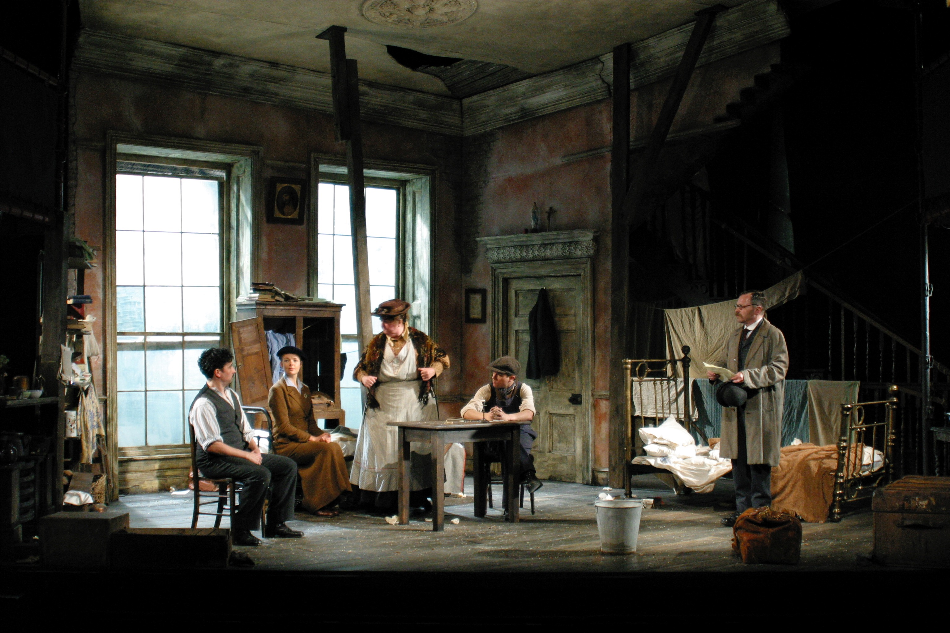 The Shadow of a Gunman, Tricycle Theatre, production photo © Mark Doubleday