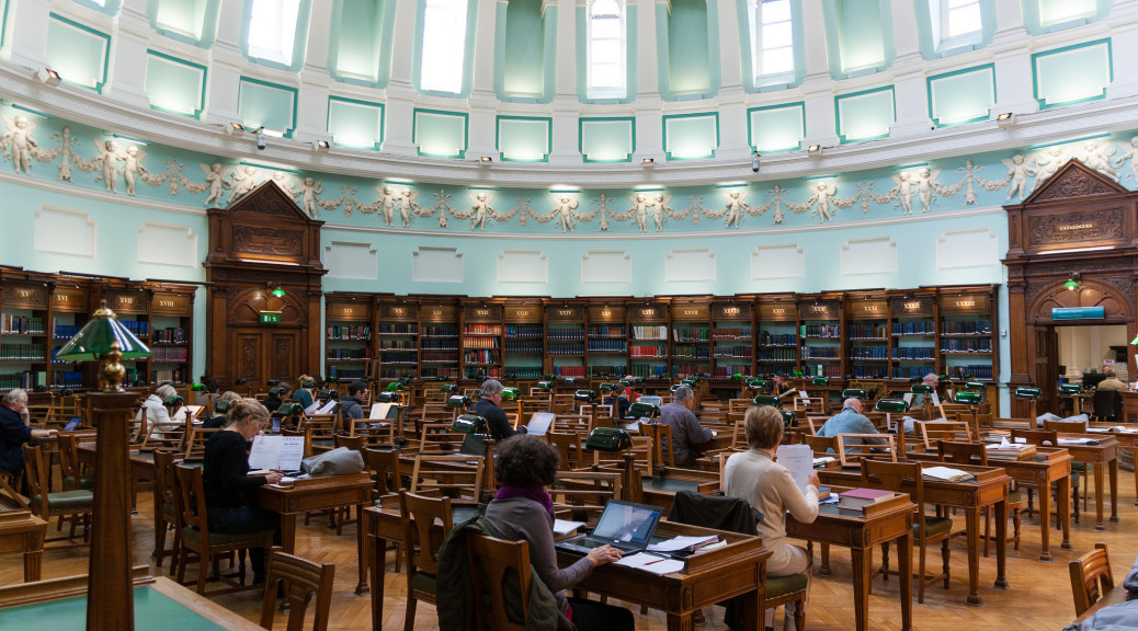 National Library of Ireland | Flickr - Photo Sharing! : taken from - https://www.flickr.com/photos/nicokaiser/8119894533Author: Nico Kaiser https://creativecommons.org/licenses/by/2.0/