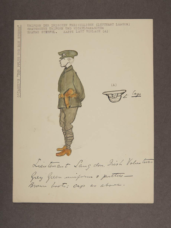 Lieutenant Langdon character sketch