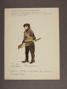 Captain Brennan character sketch