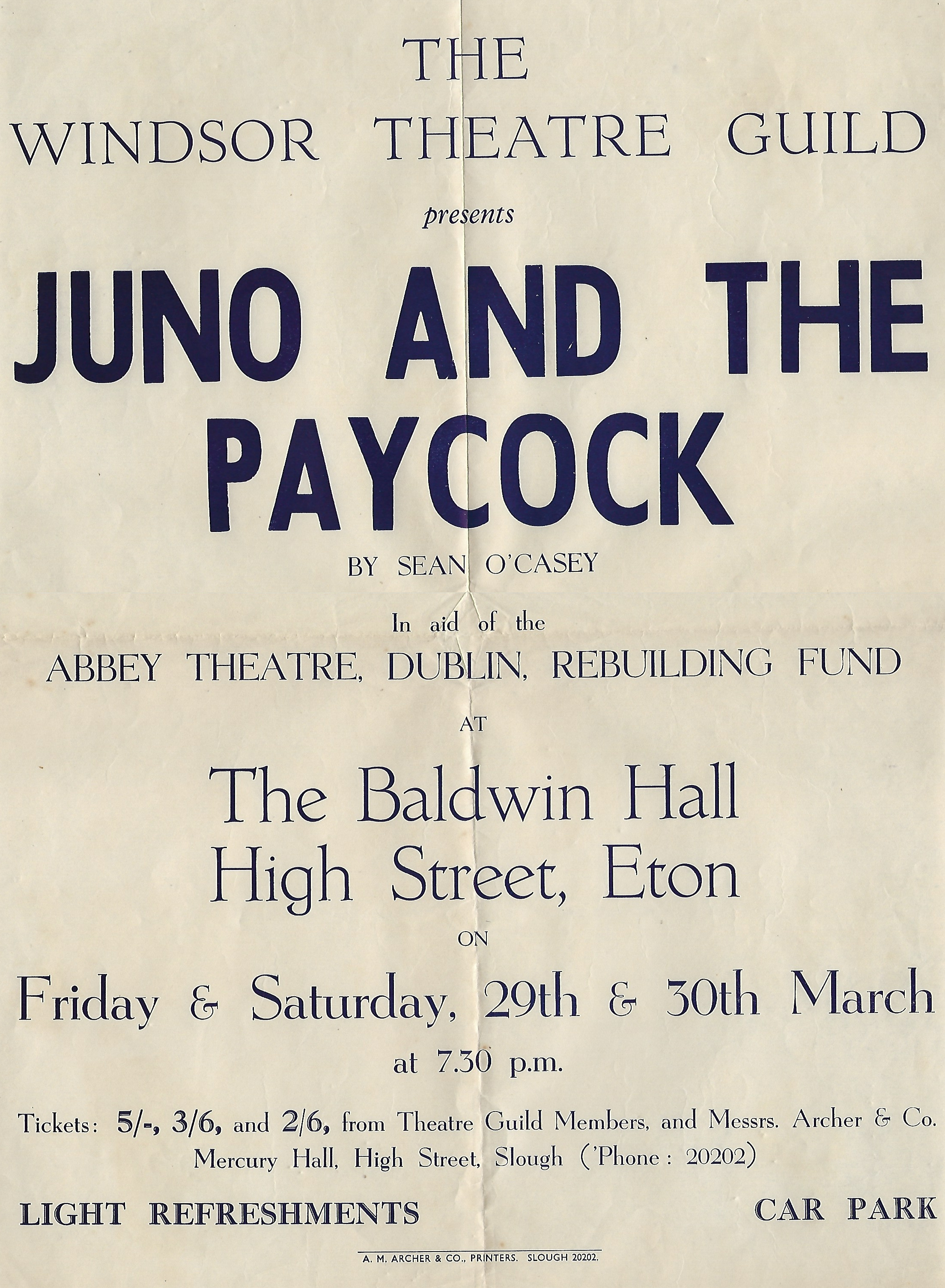 an analysis of a directors production plan for juno and the paycock by sean ocasey