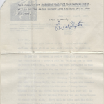 letter from Ernest Blythe to David Butcher p.2