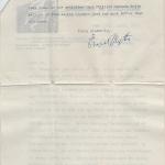 letter from Ernest Blythe to David Butcher p.2