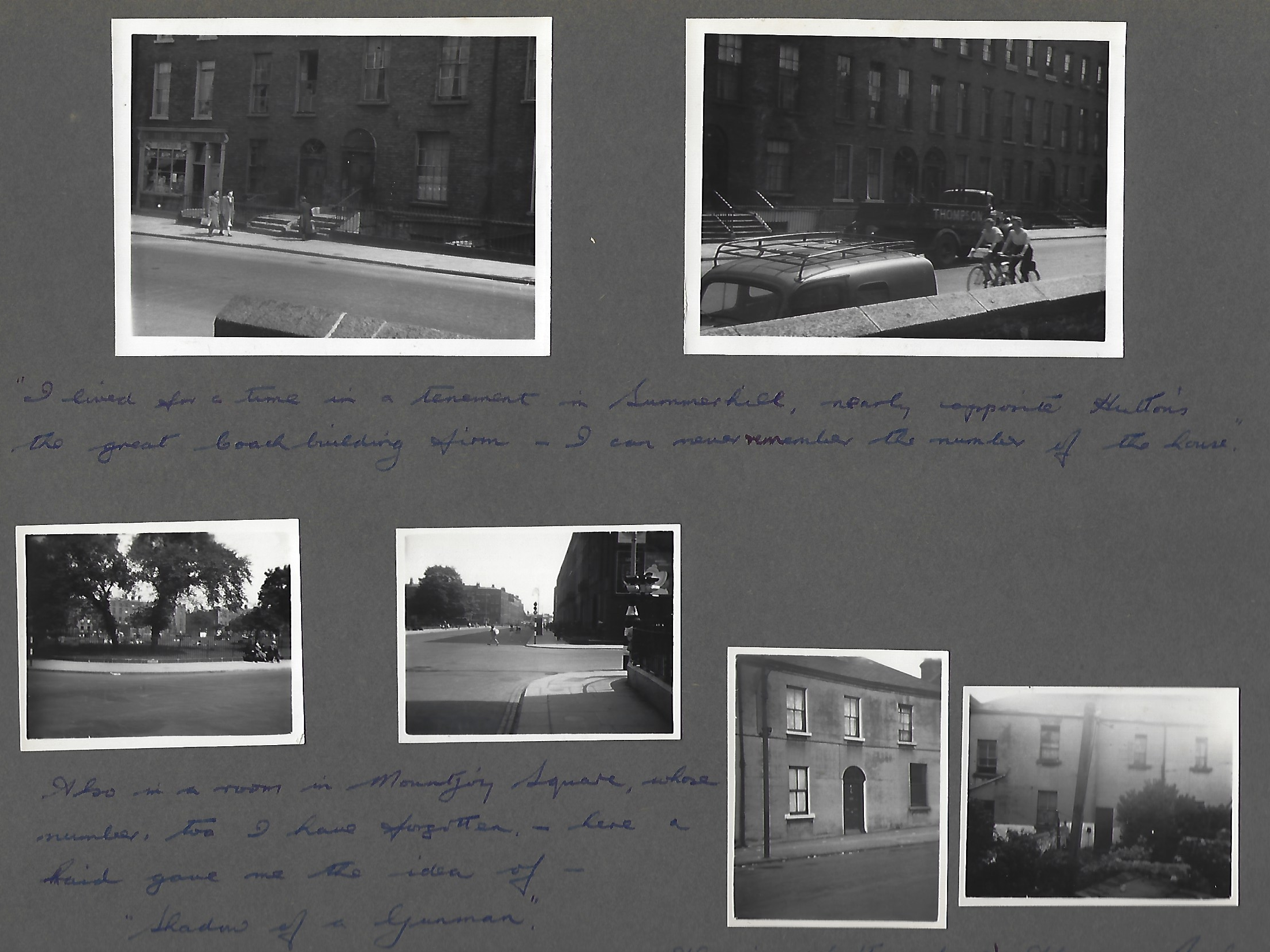 David Butcher's photo album of Dublin 1956 p. 2
