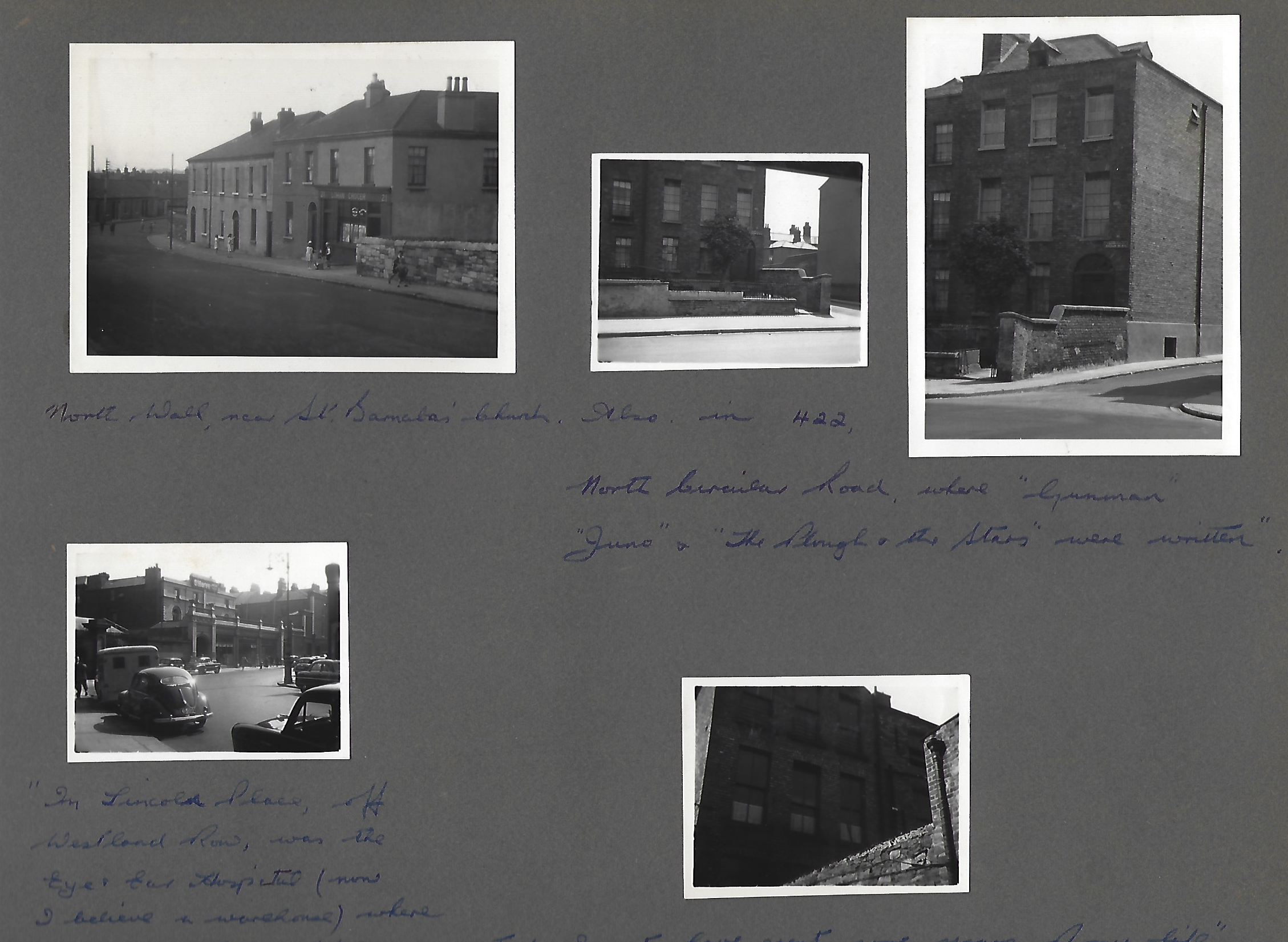 David Butcher's photo album of Dublin 1956 p. 3